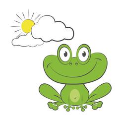 Frosch - Figuren-Serie (heiter)