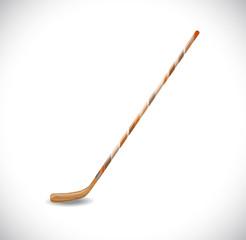 Hockey stick. Illustration 10 version.