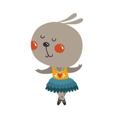 Vector dance rabbit