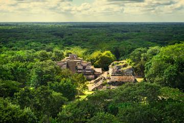 Ek Balam Mayan Archeological Site. Maya Ruins, Yucatan, Mexico