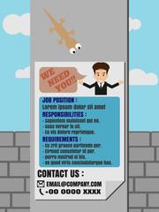 Job Finder Poster on Electricity Post