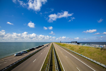 The roadway in Netherlands