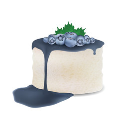 Sweet cake for your design