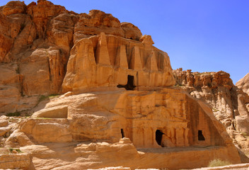 Petra - Felsengrab