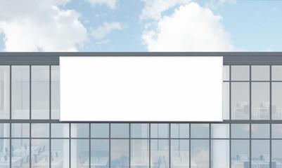 Facade advertising