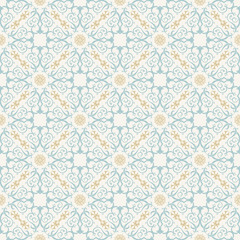 Seamless background in Arabic style