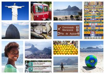 Sammlung mit 13 Motiven aus Rio de Janeiro