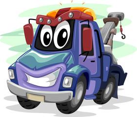 Mascot Tow Truck