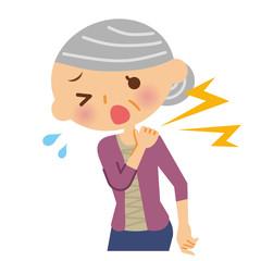 肩の痛み シニア 女性