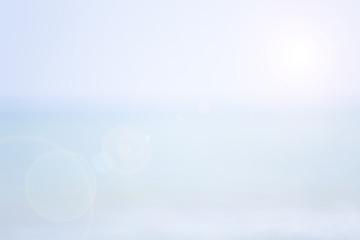 Blurred nature sky. shine white