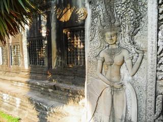 Angkor Wat,Apsara , Cambodia