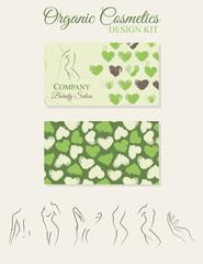 Organic Cosmetics Design Kit
