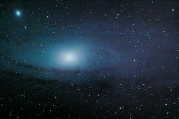 La galassia di Andromeda; Messier 31. Fotografate grazie al mio telescopio.
