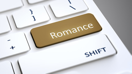 computer keyboard romance