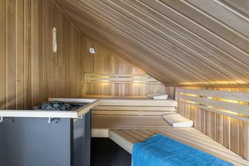 Sauna Wellness © Matthias Buehner