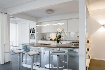 moderne Küche Wohnung kochen