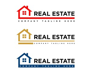 Real Estate Logo Template 8