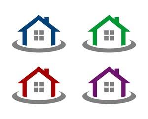Real Estate Logo Template 7