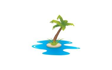 beach illustra