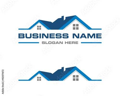 real estate logo template 2 stock image and royalty free vector