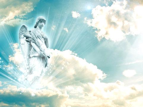 archangel Rafael with a book