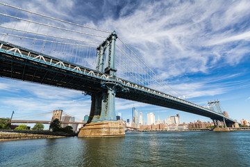 ​​NEW YORK - AUGUST 22: Views of the ​Manhattan Bridge on