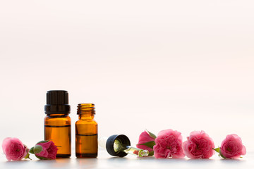 Rose aromatherapy essential oils