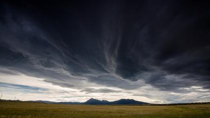 Wide open range in Alamosa County, Colorado