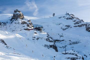 Views from the ski resort Engelberg, Switzerland