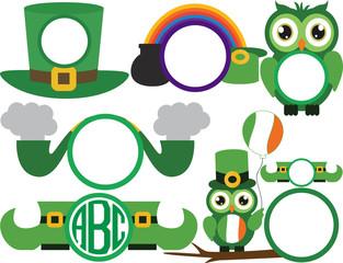 Saint Patrick's Day logo v2 -fo156