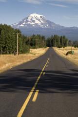 Mile Marker 15 Mount Adams Washington State
