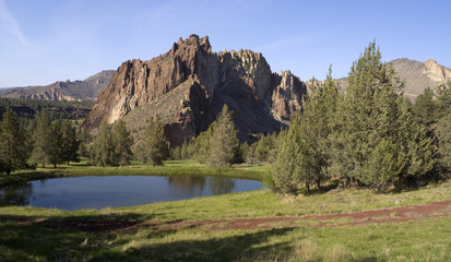 Smith Rock Oregon Territory