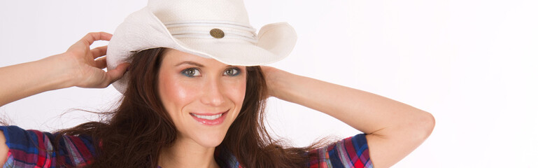 Hero Country Woman America Stock Photo