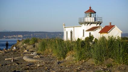 Point no Point Coastal Lighthouse