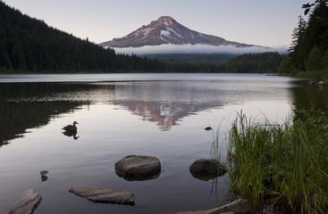 Trillium Lake Mount Hood Oregon