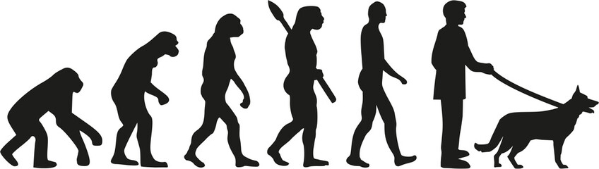 German Shepherd evolution