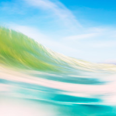 Fototapete - Wave Forms