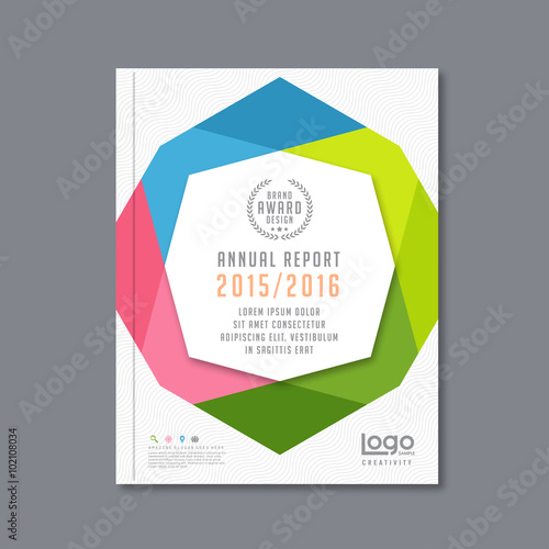 Attractive Abstract Brochure Or Flyer Design Template. Book Design, Blank, Print  Design, Journal Idea Free Blank Flyer Templates