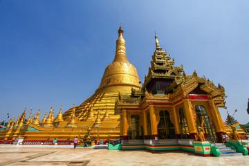 Shwemawdaw pagoda, The tallest pagoda in Bago Myanmar