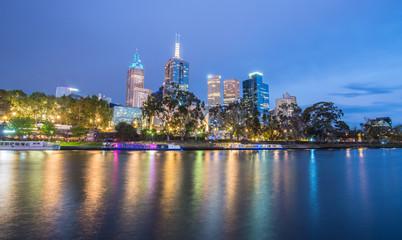 Melbourne cityscape, Australia.