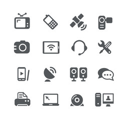 Communication Icons -- Utility Series