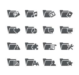 Folder Icons 2 -- Utility Series
