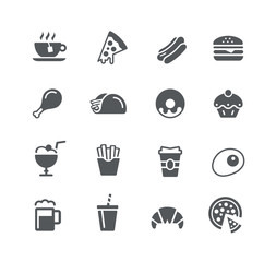Food Icons 1 -- Utility Series
