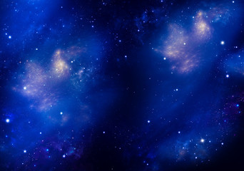 Amazing background of the night sky