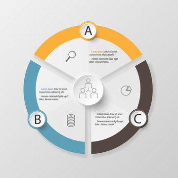 Infographic design template and marketing icons, Business concep