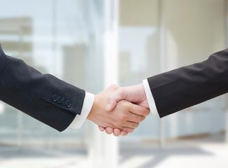 握手 ビジネス クローズアップ