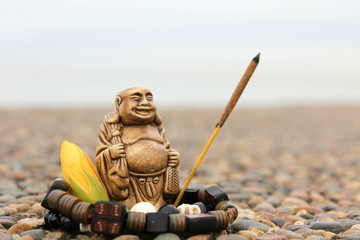 India incense sticks with budda