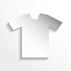 T-shirt. Vector icon.