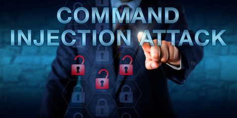 Attacker Touching COMMAND INJECTION ATTACK