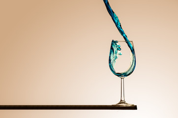 Riempimento bicchiere